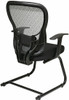 Office Star Mesh Back Sled Base Guest Chair [529-3R2V30] -3