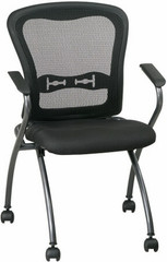 Office Star Products Folding Mesh Chair [84440] -1