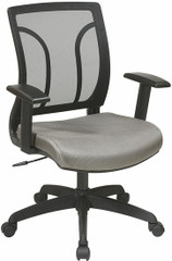 Office Star Screen Back Task Chair with Adjustable Arms [EM50727] -1