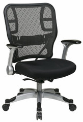 Office Star Self Adjusting Mesh Chair [215-3R2C62R5] -1