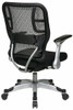 Office Star Self Adjusting Mesh Chair [215-3R2C62R5] -3