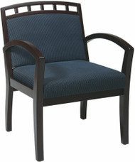 Office Star Crown Back Upholstered Guest Chair [WD1643] -1