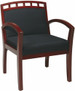 Office Star Crown Back Upholstered Guest Chair [WD1643] -2