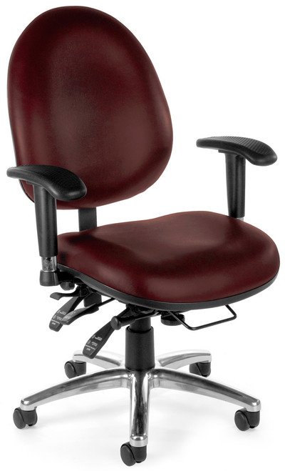OFM 24 Hour Rated Big and Tall Office Chair 247 -VAM