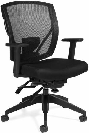 Offices To Go Ergonomic Mesh Back Office Chair Otg2803