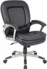 Perforated Pillow Top Boss Office Chair [B7106] -1