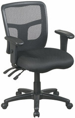 Office Star ProGrid Series Mesh Office Chair [92343] -1