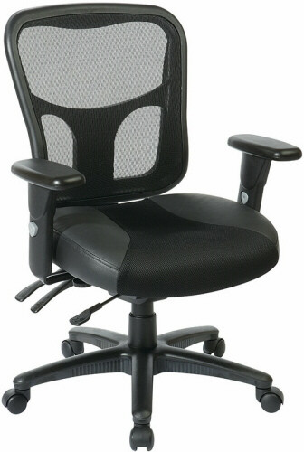 Office Star ProGrid® Back Mesh Managers Chair [98346] -1