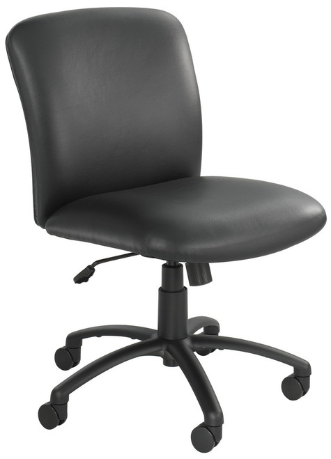 Safco 500 Lb Capacity Mid Back Office Chair 3491