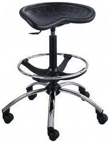 Safco SitStar Tractor Seat Stool [6660]  1