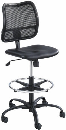 Merveilleux Safco Vue Mesh Back Vinyl Seat Drafting Chair [3395BV]  1