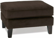 Sierra Collection Dark Brown Corduroy Ottoman [SRA905] -1