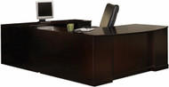 Sorrento U Shape Executive Desk Set [SURBBB72] -1