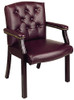Traditional Visitors Chair with Padded Arms [TV233] -2