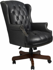 Boss Traditional Wingback Office Chair [B800] -1