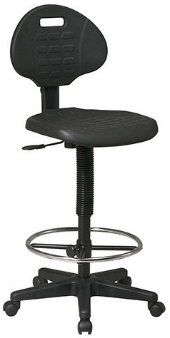 Urethane Drafting Chair [KH550] -1