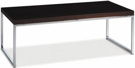 Veneer Top Espresso Finish Coffee Table Wst12
