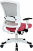Office Star White Mesh Back Office Chair [317W-W1C1F2W] -2