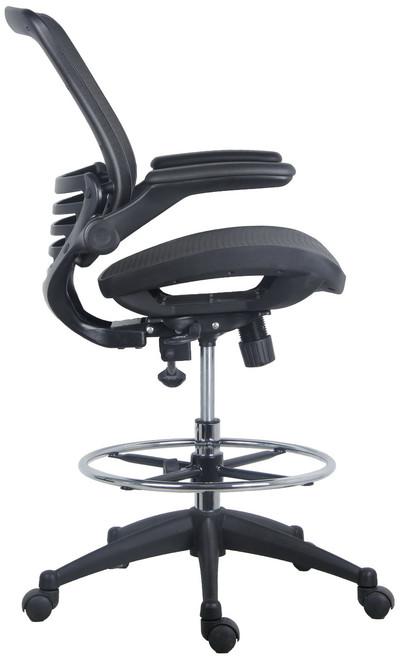 harwick evolve all mesh heavy duty drafting chair 2250d