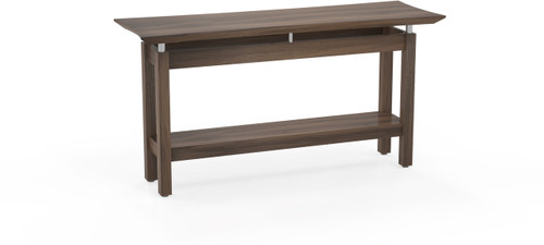 """Mayline Sterling 58"""" Rectangle Sofa Table Textured Brown Sugar [STSTTBS]-1"""