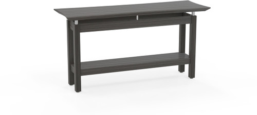"""Mayline Sterling 58"""" Rectangle Sofa Table Textured Driftwood [STSTTDW]-1"""
