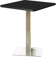 "Mayline Bistro 36"" Square Bar Height Table Stainless Steel Base [CA36SHSTANT]-1"