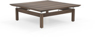 "Mayline Sterling 48"" Square Coffee Table Textured Brown Sugar [STCTTBS]-1"