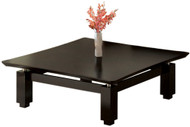 "Mayline Sterling 48"" Square Coffee Table Textured Mocha [STCTTDC]-1"