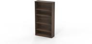 Mayline Medina Bookcase 5 Shelf Textured Brown Sugar [MVB5TBS]-1