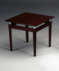 Mayline End Table Veneer Mahogany Veneer [NTSMAH]-1