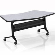 "Mayline Flip-N-Go 48""x24"" Transition Table Folkstone [LT24TFLK4]-1"