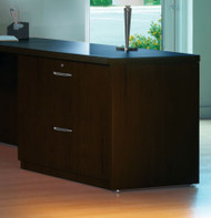 "Mayline Aberdeen 36"" Credenza Lateral File Mocha [ACLF36LDC]-1"