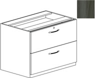 "Mayline Aberdeen 36"" Credenza Lateral File Gray Steel [ACLF36LGS]-1"