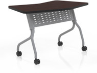 "Mayline Sync 24"" x 48"" Transition Table Mocha [SYT24TLDCM]-1"