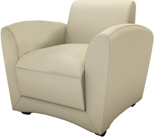 Mayline Santa Cruz Almond Mobile Lounge Chair [VCCMALM]-1