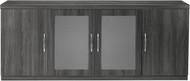 Mayline Aberdeen Low Wall Cabinet Gray Steel [ALCLGS]-1