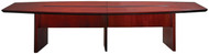 Mayline Corsica Conference Table Boat-Shaped Sierra Cherry [CMT12CRY]-1