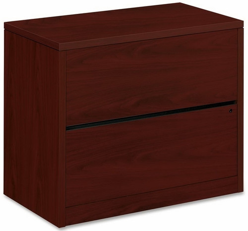 HON 2 Drawer File Cabinet Laminate Finish [10563] -1