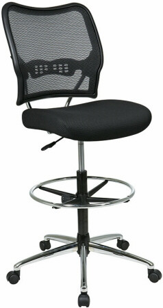 Air Grid Back Mesh Drafting Stool [13-37P500D] -1  sc 1 st  Office Chairs On Sale : mesh drafting chair - Cheerinfomania.Com