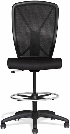 allseating fluid basic mesh drafting chair 82019