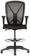 Allseating Fluid Mesh Drafting Stool [81019] -1