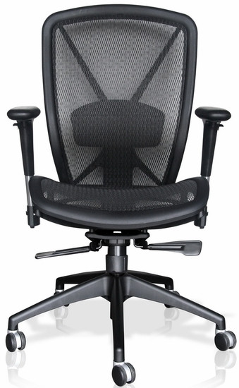 all seating fluid mesh back office chair - 81040