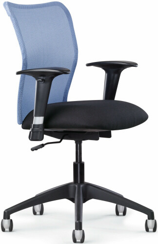 Allseating Inertia Mesh Back Office Chair [78040]  1