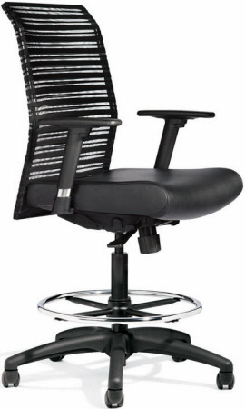 All Seating Zip Mesh Drafting Stool Chairs 95019