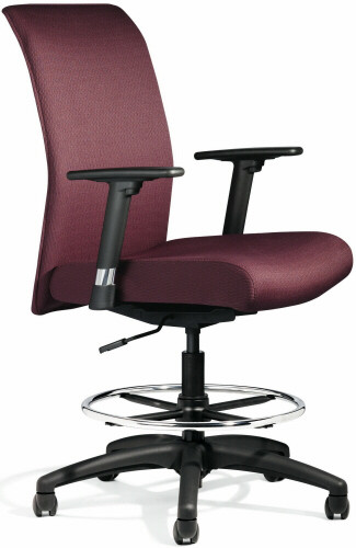 All Seating Zip Upholstered Drafting Chair 92019