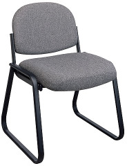 Armless Sled Base Guest Chair [V4420] -1