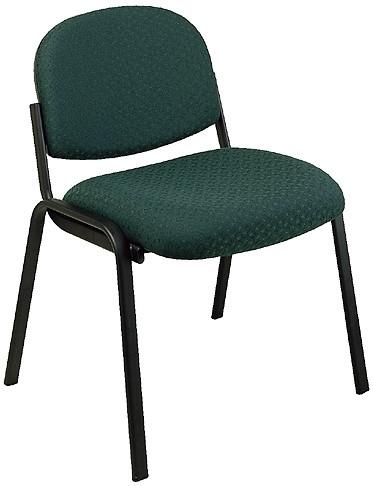 Armless Fabric Reception Chair [EX31] -1
