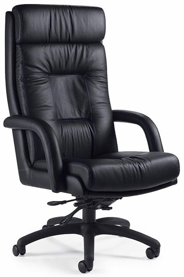 Global Arturo Executive Leather Office Chair [3991] -1