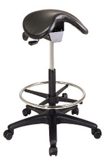 Backless Drafting Stool with Saddle Seat [ST205] -1