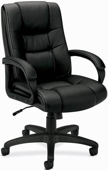 Basyx Faux Leather Vinyl Exeuctive Chair [VL131] -1